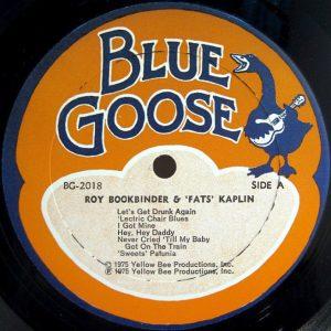 blue goose records